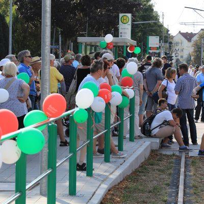 08.08.2018 MVB Eröffnung Strecke Wiener Strasse