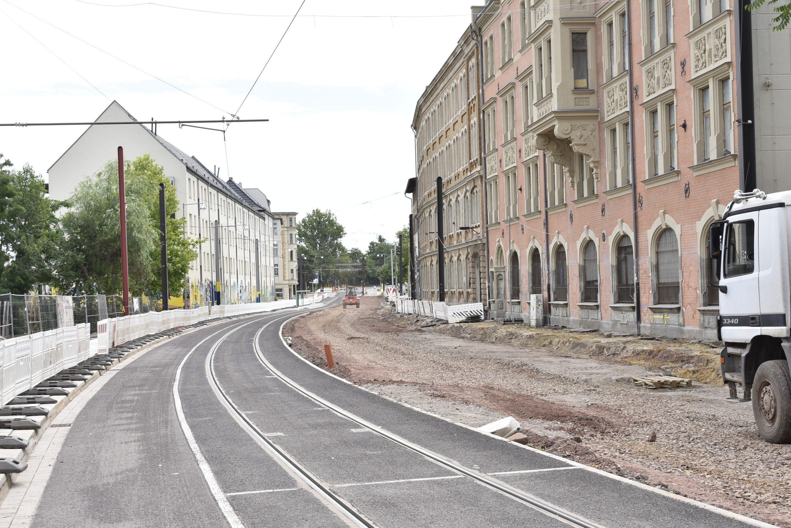 Blick in die Schönebecker Straße.
