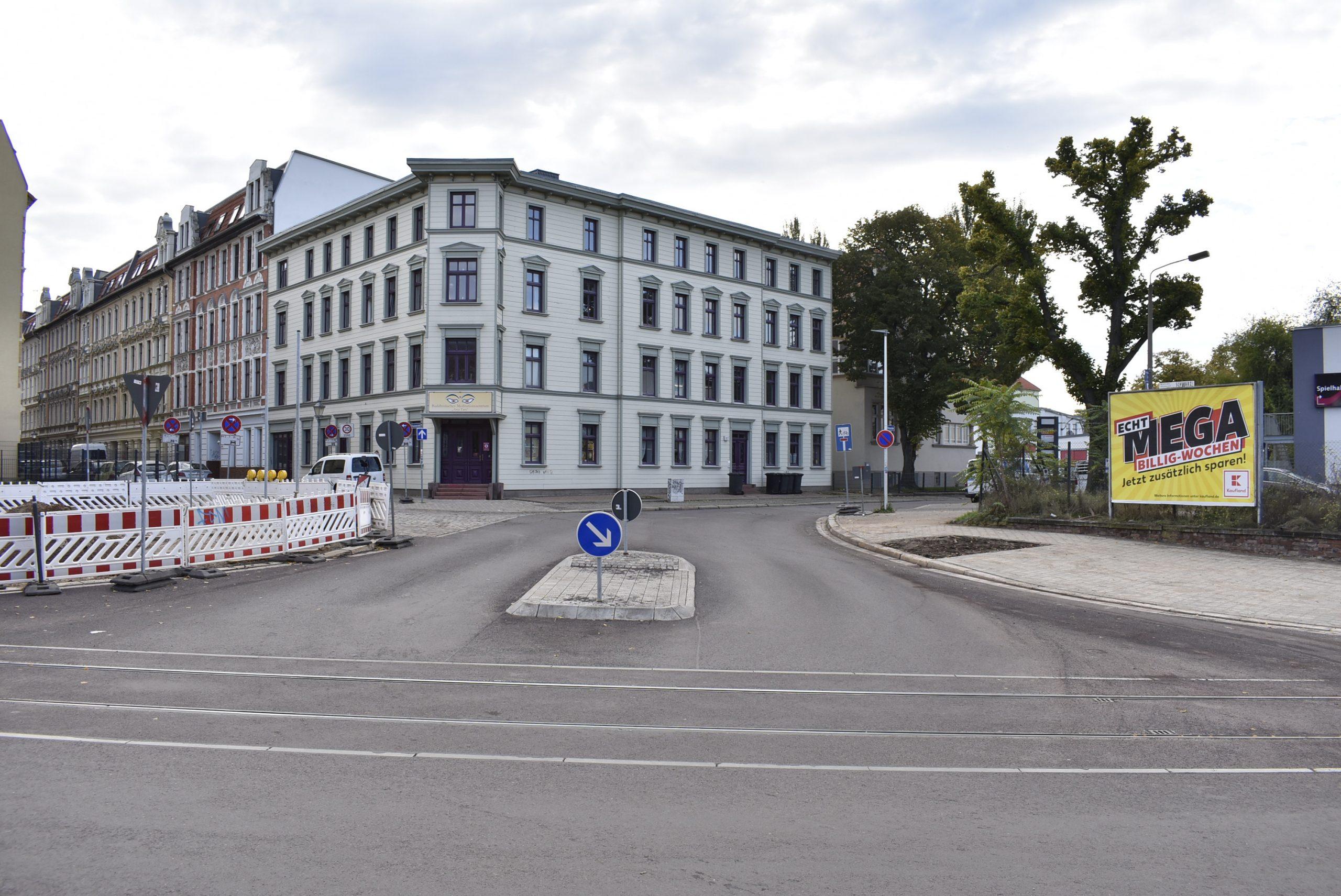 Kreuzung Porsestraße.