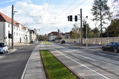 Rollrasen in der Raiffeisenstraße