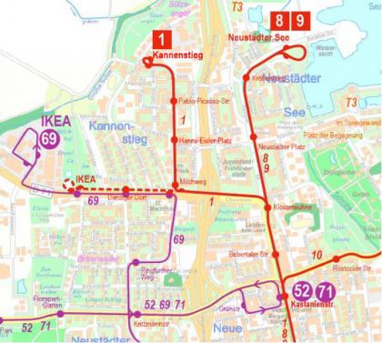 Verkehr ab 2. September 2021
