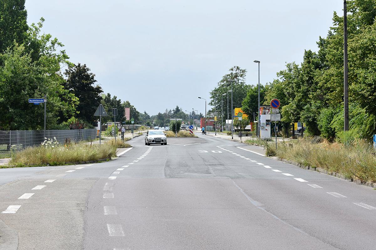 Blick in die Kritzmannstraße